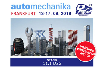 Presentes en Automechamika 2016, Frankfurt